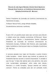 Apresentação - J. Aguiar Machado - Casa da América Latina