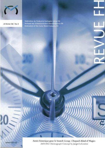 Revue FH > février 2006 - Zedax SA