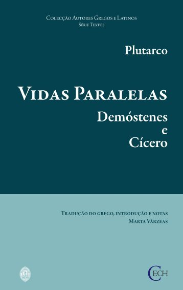 Demóstenes e Cícero - Universidade de Coimbra