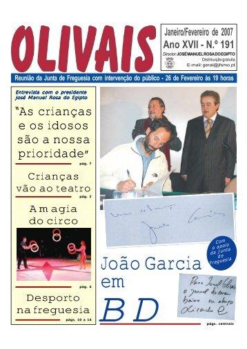João Garcia em - Junta de Freguesia dos Olivais