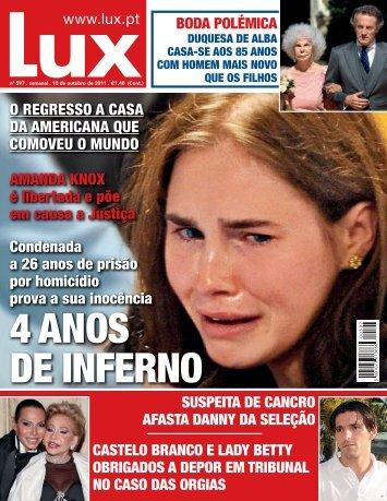 SUSPEITA DE CANCRO AFASTA DANNY DA SELEÇÃO ... - Lux - Iol