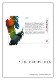 Manual «Adobe Photoshop CS - Portal das Artes Gráficas