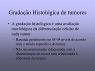 Gradação Histológica de tumores - medicina | celular