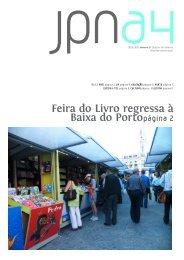Feira do Livro regressa à Baixa do Portopágina 2 - Universidade do ...