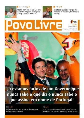 Versão em PDF - Partido Social Democrata