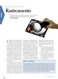 Rastreamento - Linux Magazine Online