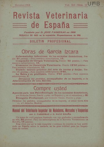 Revista veterinaria de España
