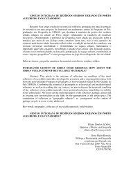 1 GESTÃO INTEGRADA DE RESÍDUOS SÓLIDOS URBANOS EM ...