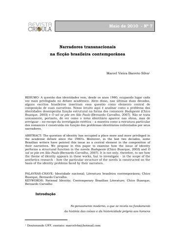 Dossiê - Marcel Silva - fflch - USP