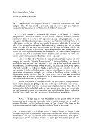 entrevista a maria joão - Alberto Pucheu