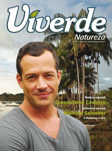 Malvino Salvador Ecossistema Costeiro - Revista Viverde