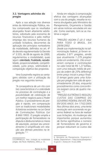 Revista da - Controladoria-Geral da União