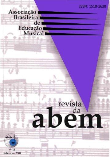 Revista completa (PDF) - Associação Brasileira de Educação Musical