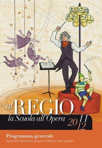 Programma generale - Teatro Regio di Torino