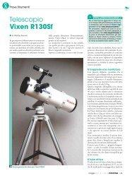 Telescopio Vixen R130Sf - Skypoint Srl