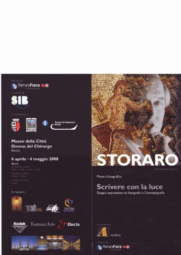 depliant della mostra - Comune di Rimini