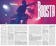 BOOSTA Scarica l'intervista in .PDF - Lookout Magazine
