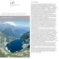 Laghetti alpini della Svizzera italiana