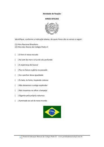 1 - Portal de Educação Musical do Colégio Pedro II