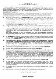 REGULAMENTO 2º. Leilão Virtual Boi Branco da ... - Leilonorte.com.br