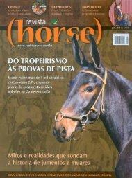 Revista Horse nº 35 - Julho de 2011 - Hípica Manège Alphaville