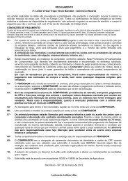REGULAMENTO 3º. Leilão Virtual Tropa Tércio ... - Leilonorte.com.br