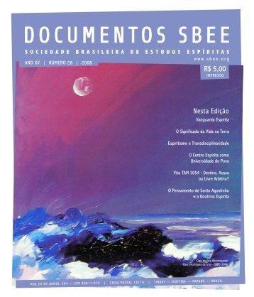 DOCUMENTOS SbEE - Sociedade Brasileira de Estudos Espíritas