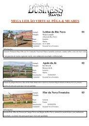 (Catalogo Leil\343o Muares 14-12-2011.xls) - Canal Business Rural