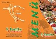 Schmitz Partyservice Menükarte