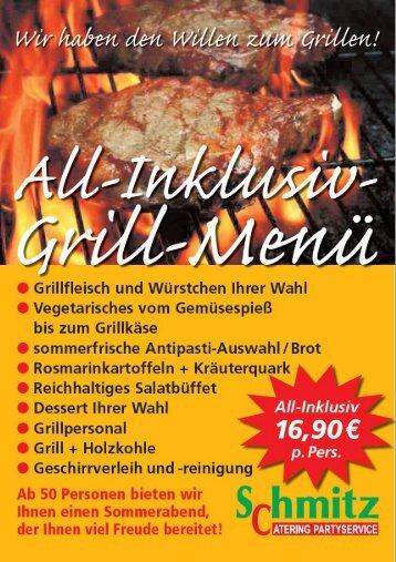 Schmitz Partyservice - All-Inklusive-Grill-Menü