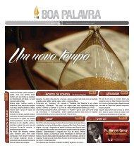 Boa Palavra dEZEMBRO - Aline.cdr - Igreja Batista do Povo