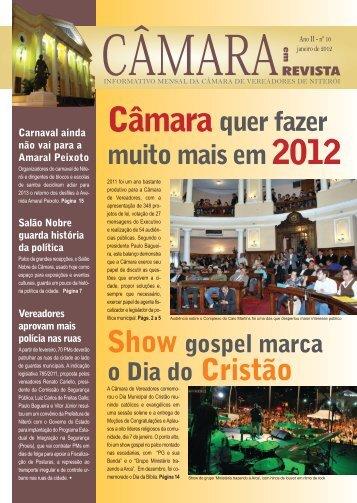 Janeiro ? 2012 - Câmara Municipal de Niterói