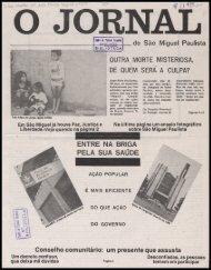 de São Miguel Paulista OUTRA MORTE MISTERIOSA. DE QUEM ...