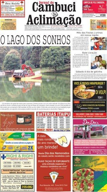 Edição 1183 - Jornal do Cambuci & Aclimação