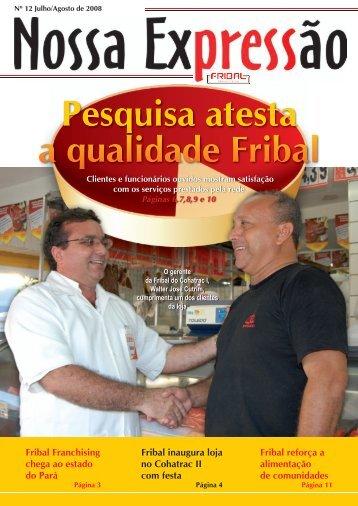 INFORMATIVO Julho.indd - Fribal Franchising