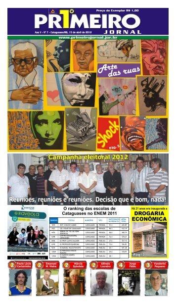15 de abril 2012 - Primeiro Jornal
