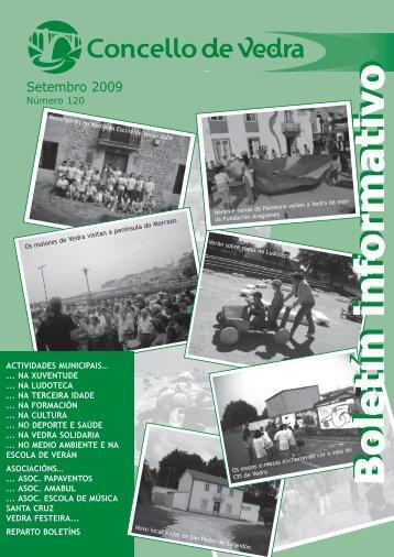 Boletín Setembro 09 - Concello de Vedra