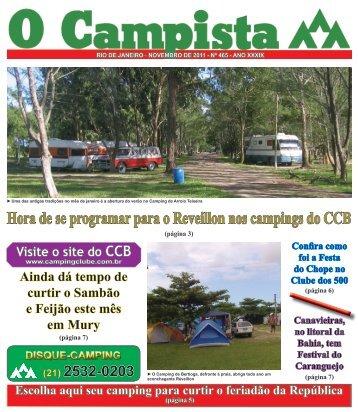 O Campista - Camping Clube do Brasil
