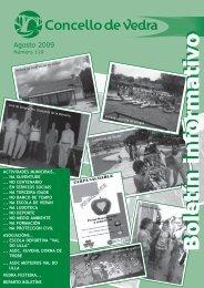 Boletín Agosto 09 - Concello de Vedra
