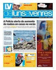 A Policía alerta do aumento de roubos en casas no verán - Galiciaé