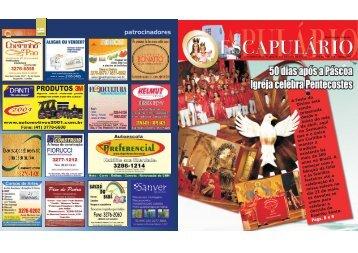 patrocinadores - Santuário Nossa Senhora do Carmo