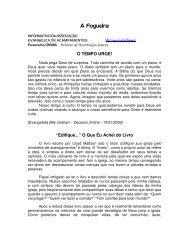 A Fogueira - Associação Brasileira de Retiros e Acampamentos ...