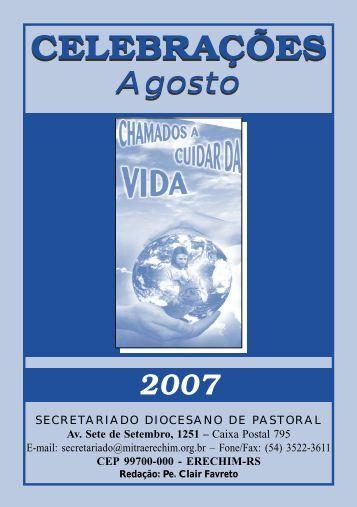 Celebrações AGO.p65 - Diocese de Erexim