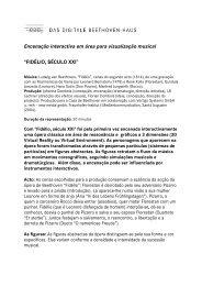 Einführungsblatt Fidelio portugiesisch - Beethoven-Haus Bonn