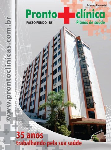 caderno final prontoclinica - Hospital Pronto Clínicas