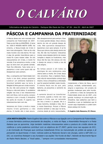 Clique aqui para baixar a versão em PDF - Igreja do Calvário