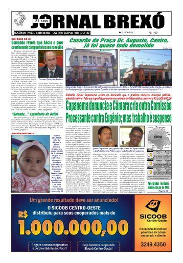 Capanema denuncia e Câmara cria outra Comissão ... - Jornal Brexó