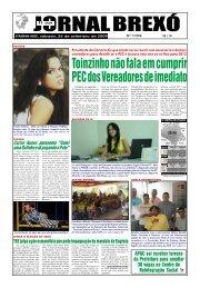 Toinzinho não fala em cumprir PEC dos Vereadores ... - Jornal Brexó