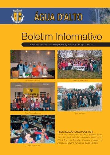 Boletim Informativo - Junta de Freguesia de Água D´Alto