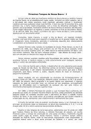 Primeiros Tempos da Nossa Bauru - I - Prefeitura Municipal de Bauru